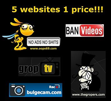 5 websites in 1 price!