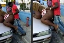 ghetto public sex in street